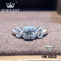 Cluster Rings Natural Diamond 18K Gold Pure Ring Beautiful Gemstone Good Upscale Trendy Classic Party Fine Jewelry Sell 2021