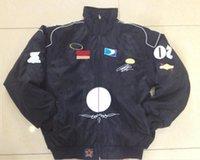 2021 Traje de carreras de Fórmula One Otoño e invierno Modelos de invierno Fuerza Aérea Chaqueta Piloto Tendencia de los hombres Bordado de béisbol Uniforme de béisbol Ropa de Motocicleta