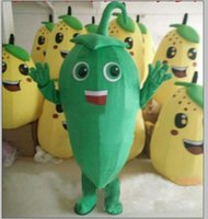 Professional Pepper Carrot Mascot Costume Halloween Christmas Fancy Party Dress Vegetable Cartoon Character Suit Carnival Unisex Adults Outfit