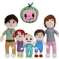 Melão jj brinquedos de pelúcia cocomelon crianças presente bonito boneca de brinquedo de pelúcia 2021