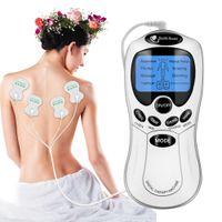 USB-maskinbehandling Tens Elektroder Avkoppling Massage Muskelstimulator Akupunktur Elektrisk Massager för ben ARM Back