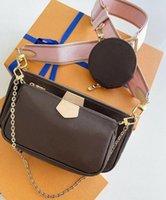Bolso de bolsas de bolso de bolsos de bolso diseñador bolso de moda bolso de mano bolsas de teléfono bolsas de tres piezas Compras gratuitas M44823