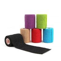 Coupeaux de genoux de coude 7.5cm * 4.5m KinesioTape Sport Sport Ruban athlétique Bandage élastique Bandage auto-adhésif Souche de souche