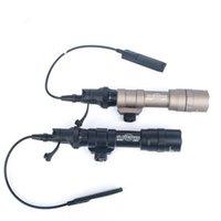 1400 루멘 전술 손전등 SureFir M600DF 스카우트 라이트 사냥 소프트의 20mm 레일 마운트 라이트 권총 총 빛