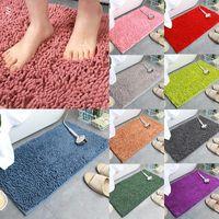 Carpets Bathroom Chenille Carpet Toilet Living Room Floor Mats Door Mat Rugs Foot Pad Bath Durable Home Textile Products