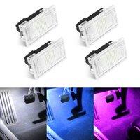 1/2/4/8 قطع مشرق led سيارة ضوء المصابيح كيت جذع frunk ضوء ل tesla نموذج 3 x s سهلة التوصيل استبدال الصمام الداخلية مصباح ديكور