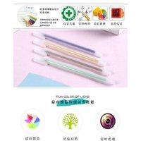 12 adet / takım Sevimli Şeker Renkler Jel Kalem Okul Ofis Yetişkin Boyama Kitap Dergiler Çizim Çizim Kalem Sanat Jillwzd