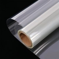 HOHOFILM 50cmx500cm 4Mil Clear Window Security Film Adhesive Anti Shatter Safety Window Glass Protection Sticker Heat Control 210317