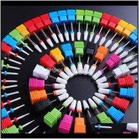 Punti da trapano in ceramica elettrica fresa per file per file manicure utensile per unghie art lucidatura per hine accessori per pedicure rettifica wktis ygwtx