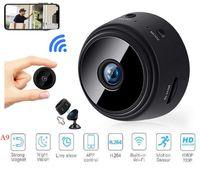 Smartphone APP A9 1080P Full HD Mini Spy Video Cam WiFi IP Беспроводная безопасность скрытые камеры наблюдения в помещении Home