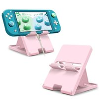 Cell Phone Mounts & Holders Portable Travel Accessories For Switch Conosle Stand Mini Bracket Pink Blue Adjustable Pad Lite Holder