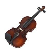 AV-590 4/4 Скрипка Профессиональная ретро стиль матовый Ebony Musical аксессуар с оксфордской тканью пены пианино для любителей музыки