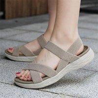 Sandals Shuz Wedge Sandal Non-Casual Leather Man Beach Flip Flops For Teen Women's Heel Mules Trending Designer Breathing Tennis