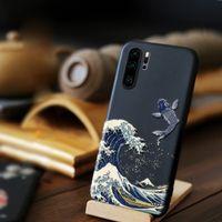Coque için Huawei P20 P30 Lite P30Pro Durumda Mate 20 Pro Onur 20 8x 9 10 Lite P Akıllı 2019 Nova 5 T Telefon Kılıfları Yumuşak TPU Arka Kapak
