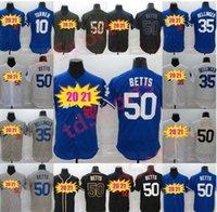 Homens Mulheres Crianças Dodger Jersey La All-Star Game Mens 35 Cody Bellinger 50 Mookie Betts Baseball Jerseys Stiched Nome ANS Número em estoque