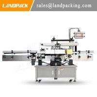 Máquina de rotulagem dupla de alta velocidade totalmente automática para redonda / quadrada / oval / plana / encaixe garrafas etc.