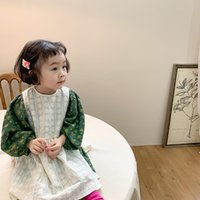 2021 Spring New Baby Girls Lace Embroidery Vest Dresses Kore...