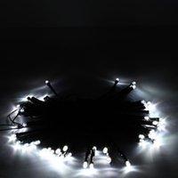 Meilleur 50 LED Solaire Pure White String Light Xmas Jardin Déco Vacances Livraison gratuite Livraison Gratuite Vente en gros