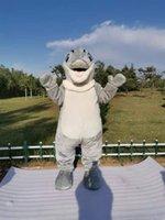 Dolphin Mascot costume robe fantaisie pour Halloween Carnaval Party Taille de l'adulte