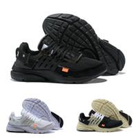 Nike Air Max Presto Airmax White Prestos Shoes OFF Hohe Qualität 2021 Neue Outdoor V2 BR TP QS Schwarz Weiß Sahne X Sports Schuhe Günstige Designer Kissen Frauen Männer