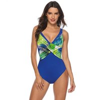 Зафуаз 2021 Сексуальная цельная купальника Купальники Купальники Push Up Monokini Bodysuit Купальник Леопарда Принт Купальником Летний Пляж