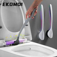 سيليكون فرشاة المرحاض متعددة الوظائف تنظيف الجدار شنت الأدوية أداة اكسسوارات الحمام مجموعة