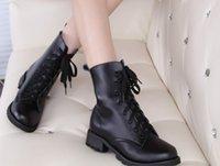 Swonco Martin 정품 쿼드 도약 신발 Tornozelo Bota Alta 여성용 바이커 부츠 LKYY