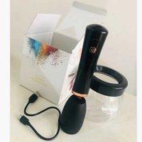 Pinceles de maquillaje RECARGABLE USB Cepillo eléctrico Lavado de lavado de lavado Dispositivo de secado rápido Maquillaje Lavado Limpiador Máquina de limpieza Herramienta