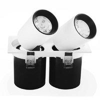 Dimmbare LED-Downlight-Licht-COB-Deckenfleck-Licht 20W 30W 50W AC85-265V-Decke Einbauleuchten Innenbeleuchtung