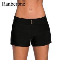 Ranberone Summer Plus Tize Boxer Sport Shorts Natación Troncos Femenino Running Tight Gym Gimnass Shorts Secalado rápido Ropa deportiva