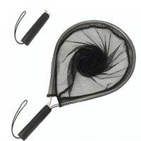 Mesh de pêche Net de pêche antidérapante Net de poignée portable des filets de corde anti-perte de corde d'aluminium