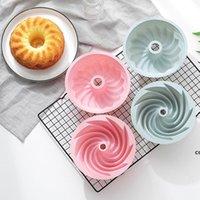 Resina Mold Forma 3D Forma Silicone Bolo Molde DIY DIY Sobremesa Mousse Cozinha Cozira Ferramentas de Bolo De Arte Bandeja Da Bandeja Modelo DHB7778