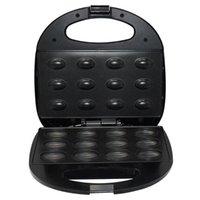 Produttori di pane elettrico per la casa per la casa della cake Maker Sandwich Breakfast Breakfast Iron Toaster Busking Pan Forno UK Plug
