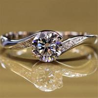 HBP 패션 럭셔리 가을 새로운 우아한 라인 슈퍼 플래시 여성 기질 다재다능한 남자 다이아몬드 선물 반지