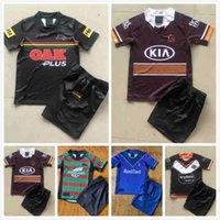 2021 2022 Wests Tigers 럭비 저지 키트 키트 20 21brisbane Broncos Penrith Panthers Canberra Assaulter 어린이 NRL 리그 셔츠 유니폼