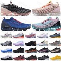 뜨거운 새로운 최고 품질의 도착 플라이 2.0 3.0 스니커즈 니트 남성 여성 실행 신발 트리플 블랙 화이트 레인보우 스포츠 구두 유로 36-45
