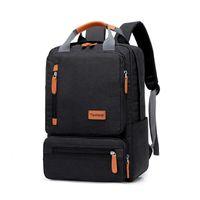 Рюкзак джиюлин тонкий ноутбук мужчины 15,6 дюймов офисный рабочий день унисекс сверхлегкий тонкий задний пакет