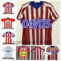Retro 2003 2004 2005 Centenary Atletico Futbol Formaları 1994 1996 13 14 15 Torres Simeone Kiko Caminero Futbol Vintage Futbol Gömlek Klasik