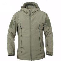 New mens Stylist winter coats outdoor tactics warm cardigan fleece coat mens thickening charge coat mens Stylist jackets