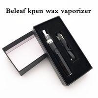 Beleaf Kpen Wachs VAPE Elektronische Zigaretten-Zigaretten-Zigaretten-Stift-Verdampfer tragbarer DAB-Starter-Kit 500mAh-Tupfer-Tupfer-Rig-Keramik-Quarz elektrische Email-Glasbongs auf Lager
