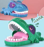 مضحك لدغة البنصر الكمامات لعبة ديناصور الفم عض فنجر ألعاب التفاعلية العائلة حزب الجدة لعبة للأطفال هدية الحيوان 05