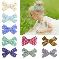 YLSP Fashion Cute Mini Bows Hair Clips For Baby Girls Colorful Hairclip Hairpins Barrettes Child Kids Headwear Accessories