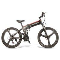 [AB Stok] SameBike LO26 26 inç Katlanır Akıllı Moped Elektrikli Bisiklet Güç Asisti Elektrikli 48 V 350 W Motor 10.4Ah E-Bike Açık Seyahat