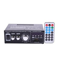 & MP4 Players Lepy 12V 220V 400W 2 CH Bluetooth Hifi Stereo USB SD FM Radio Power Car Audio Home