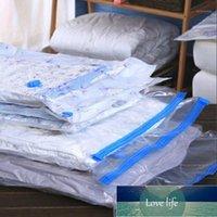 5 pçs / seta saco de armazenamento de vácuo para colilização de roupas com válvula dobrável organizador comprimido espaçador de espaçamento Seladora um vácuo1