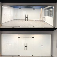 HOHOFILM 10cmx10cm Smart Film Building Window Glasses Smart Film PDLC Magic Switchable Transparent Color Film Sample 4''x4'' 210317