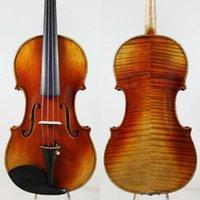"""Oferta especial !!! Guarneri 1743 Canhão 4/4 Violino Violino Tom poderoso! """"Todo a madeira europeia"""" Shiping Grátis! Som profissional!"""