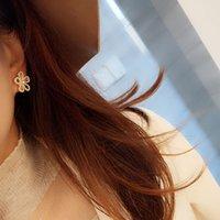 2021 Pendiente de flores Estética para Mujeres Moda Accesorios de estilo coreano Brincos Party Jewelry Regalo