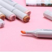 72 adet Renkler Sanatçı Copic Kroki Işaretleyiciler Set Ince Nibs İkiz İpucu Kurulu Kalem Tasarım Marker Kalem Çizim Sanat Seti Y200709 753 K2