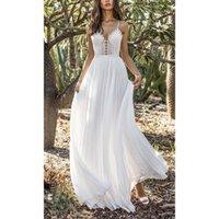 Casual Dresses Sundress Women Clothes 2021 Spaghetti Strap Solid White Dress Vestido Blanco Sukienki Na Wesele Damskie Robe Ceremonie Femme